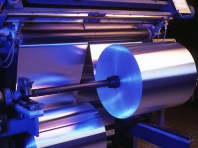 Production of metal foil