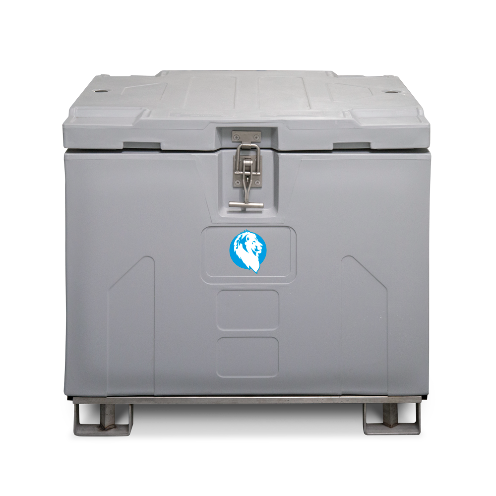 Trockeneistransportbox White Lion 150