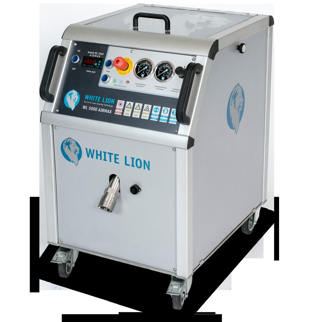 Trockeneisstrahlgerät WL 5000 AirMax - WHITE LION