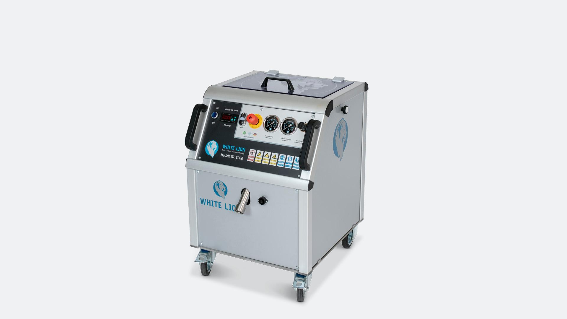 Trockeneisstrahlgerät WL 3000